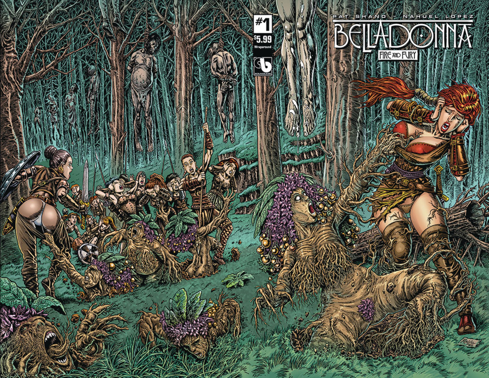 Belladonna: Fire and Fury #1 (Wrap Cover)