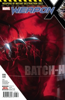 Weapon X #6 (2nd Printing Skan Cover)