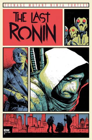 Teenage Mutant Ninja Turtles: The Last Ronin #4 (10 Copy Wachter Cover)