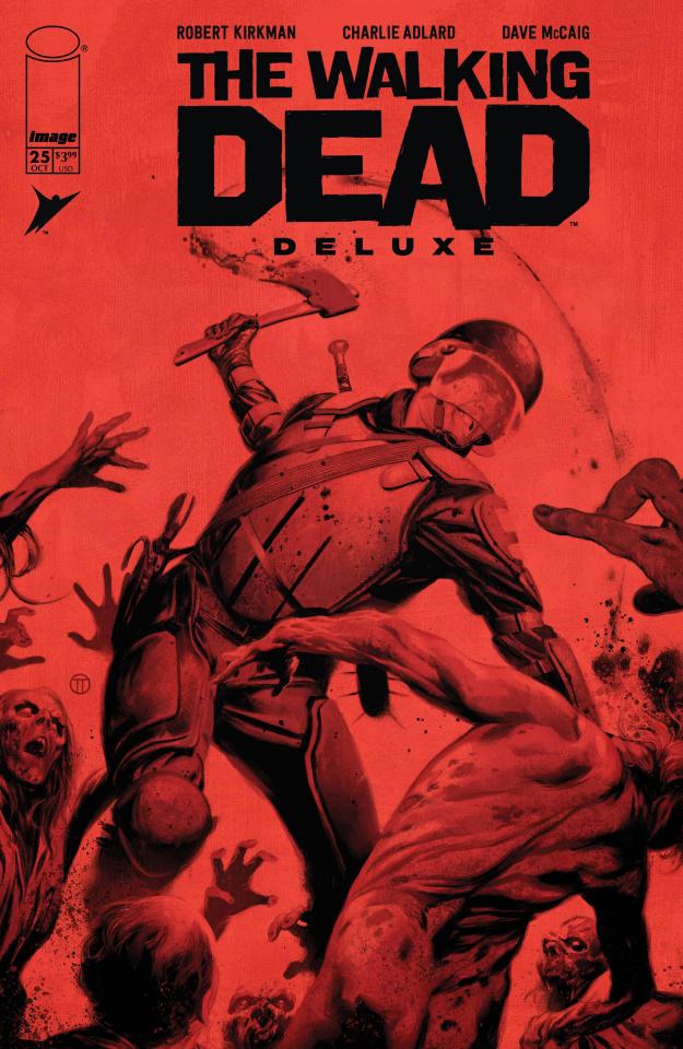 The Walking Dead Deluxe #25 (Tedesco Cover)