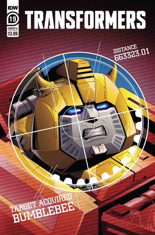 The Transformers #19 (Deer Cover)
