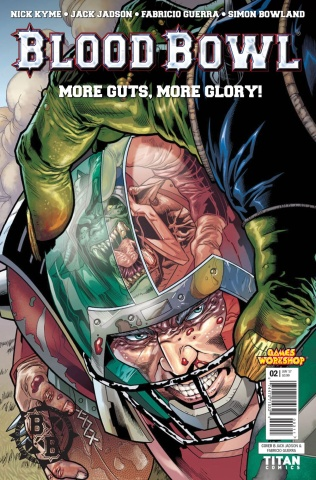 Blood Bowl: More Guts, More Glory! #2 (Jadson Cover)