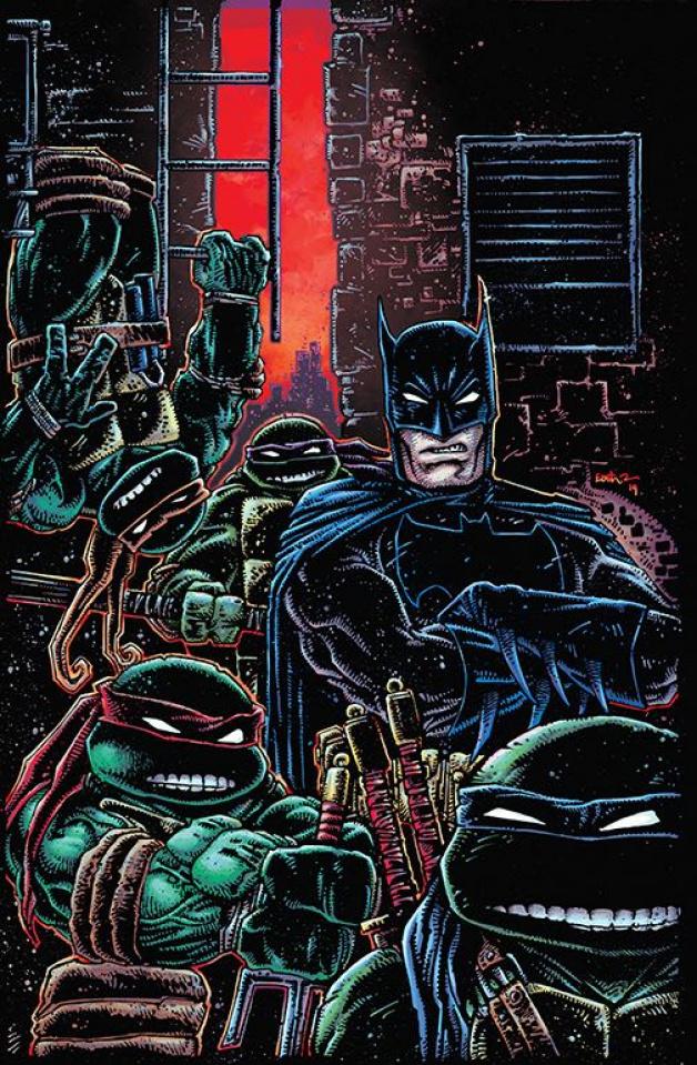 Batman / Teenage Mutant Ninja Turtles III #1 (Variant Cover)