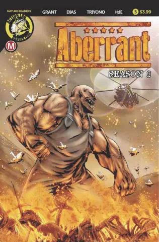 Aberrant, Season 2 #5 (Leon Dias Cover)