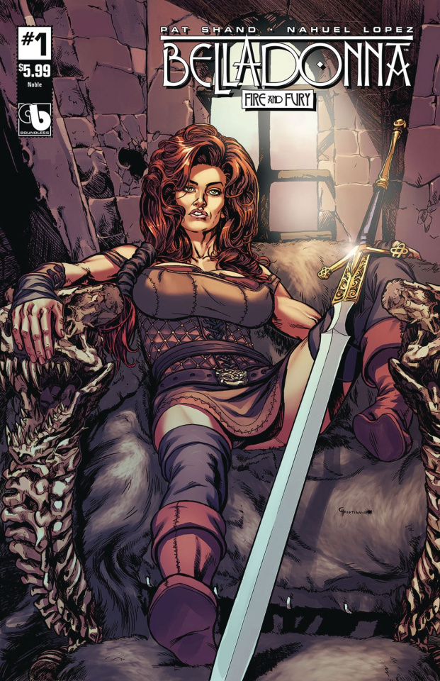 Belladonna: Fire and Fury #1 (Noble Cover)