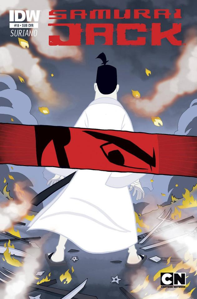 Samurai Jack #18 (Subscription Cover)