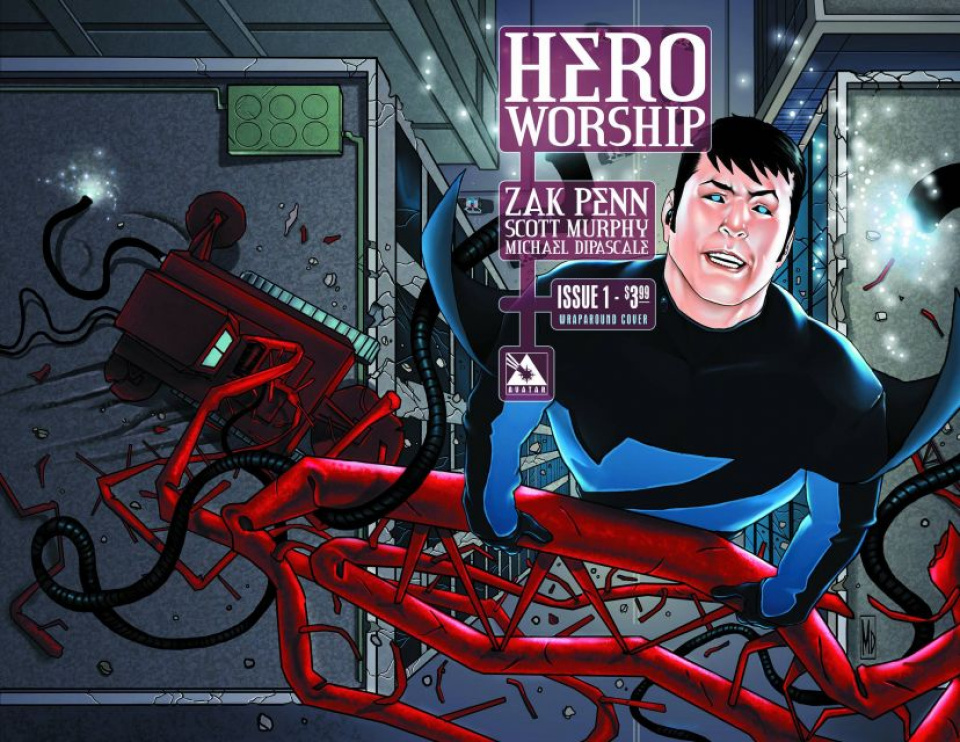 Hero Worship #1 (Wrap Cover)