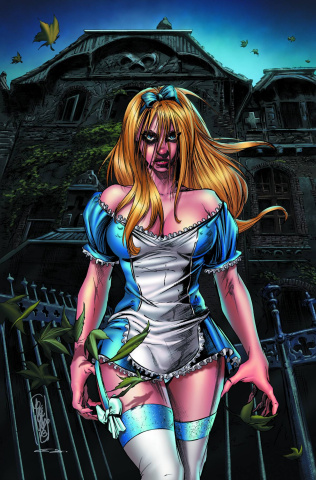 Grimm Fairy Tales: Wonderland - Asylum #1 (Lilly Cover)