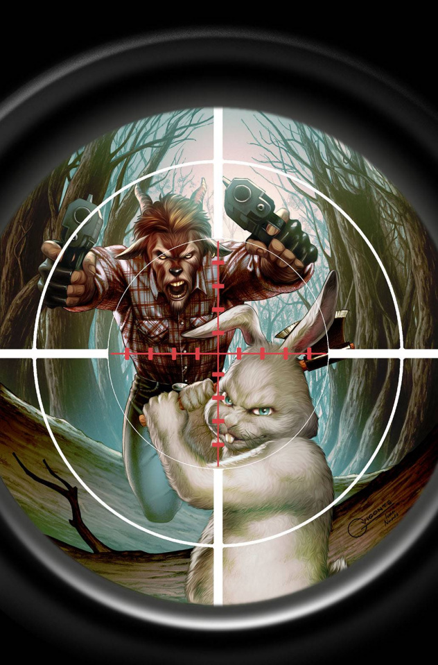 Man Goat & The Bunny Man #2 (Vigonte Cover)