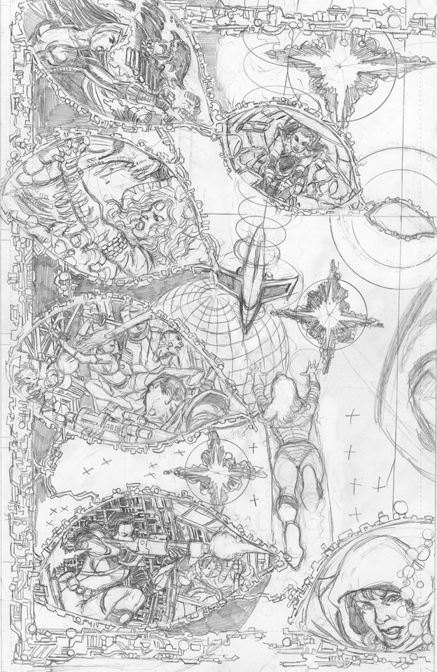 Sirens #2 (25 Copy Pencils Cover)