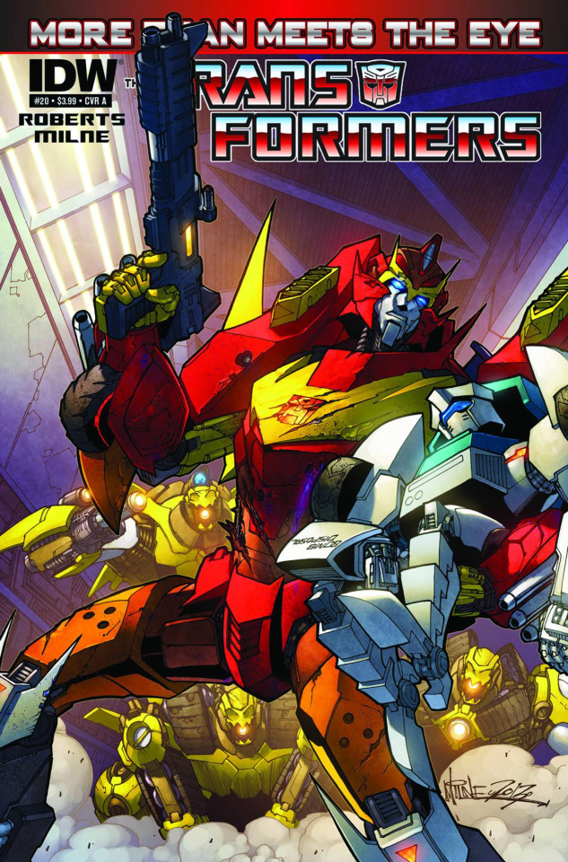 The Transformers: More Than Meets the Eye #20