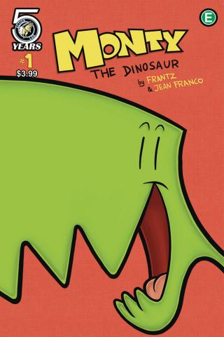 Monty the Dinosaur #1 (Franco Cover)