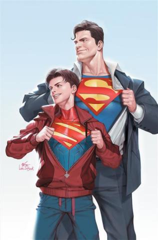 Superman #32 (Inhyuk Lee Card Stock Cover)