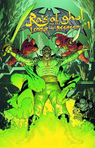 Batman and Robin #23.3: Ras Al Ghul Standard Cover