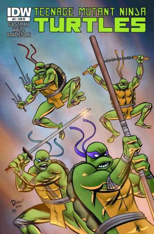 Teenage Mutant Ninja Turtles #21 (Subscription Cover)