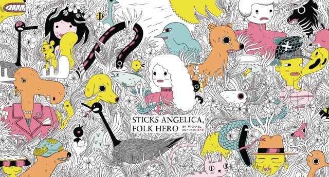 Sticks Angelica, Folk Hero