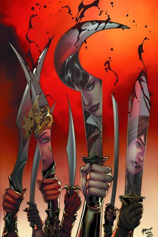 Swords of Sorrow #6 (Rare Luppachino Virgin Cover)