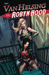Van Helsing vs. Robyn Hood #4 (Riveiro Cover)