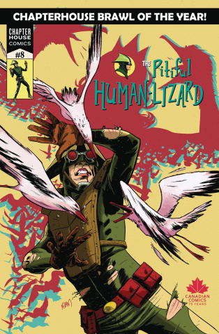 The Pitiful Human Lizard #8 (Gorham Cover)