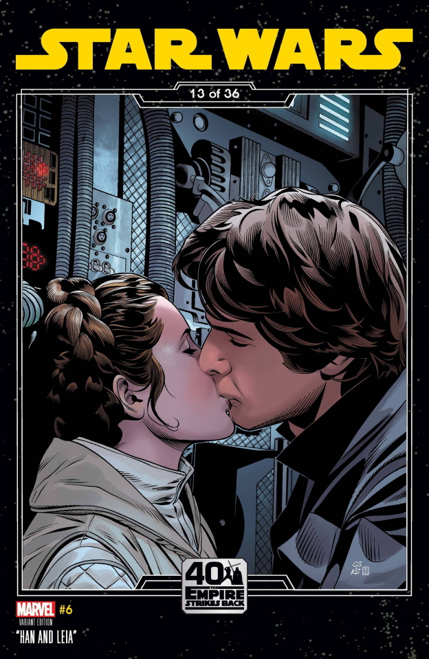 Star Wars #6 (Sprouse Empire Strikes Back Cover)
