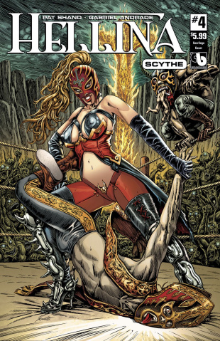 Hellina: Scythe #4 (Sacrilege Cover)