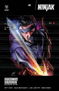 Ninjak #13 (Haley Cover)