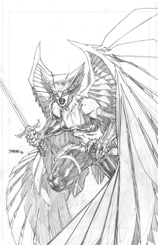 Justice League #3 (Jim Lee Pencils Cover)