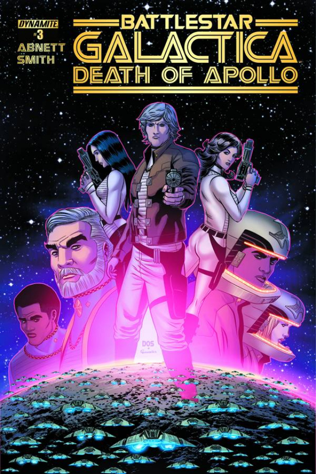 Battlestar Galactica: Death of Apollo #3 (Smith Cover)