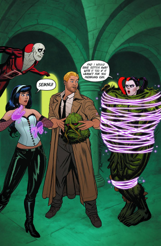 Justice League Dark #39 (Harley Quinn Cover)