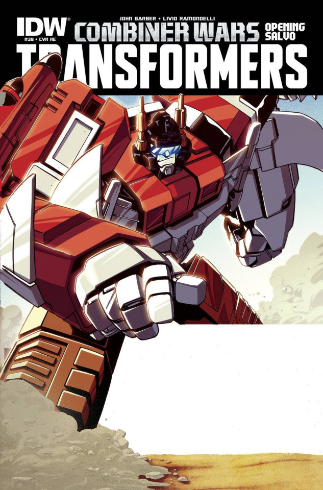 The Transformers #39 (Subscription Cover)