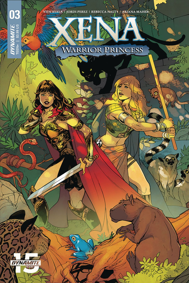 Xena: Warrior Princess #3 (Lupacchino Cover)