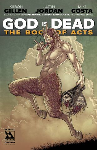 God Is Dead: The Book of Acts - Omega (Iconic Cover)