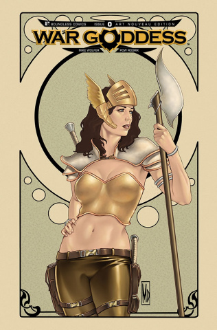 War Goddess #0 (Art Nouveau Cover)