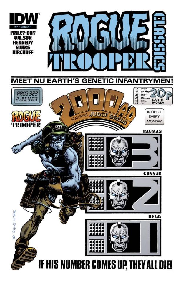 Rogue Trooper Classics #7 (Subscription Cover)