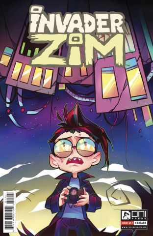 Invader Zim #17 (Variant Cover)