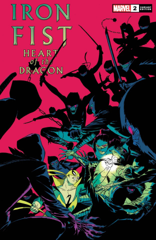 Iron Fist: Heart of the Dragon #2 (Martin Cover)