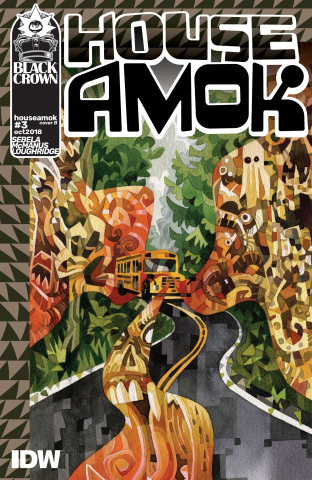 House Amok #3 (Edwards Cover)