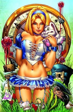 Grimm Fairy Tales: Alice in Wonderland #1 (Ebas Cover)