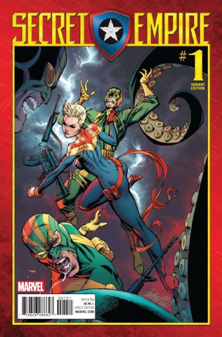 Secret Empire #1 (J.S. Campbell Cover)