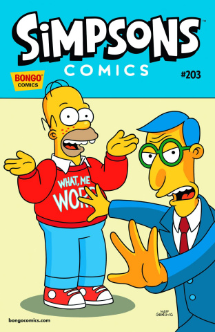Simpsons Comics #203