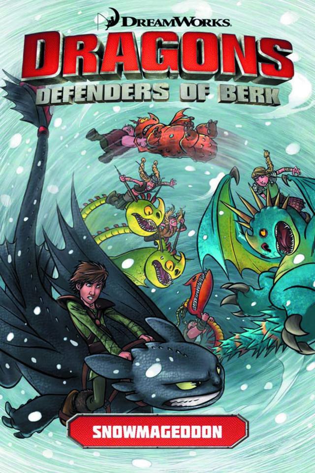 Dragons: Defenders of Berk Vol. 2: Snowmageddon