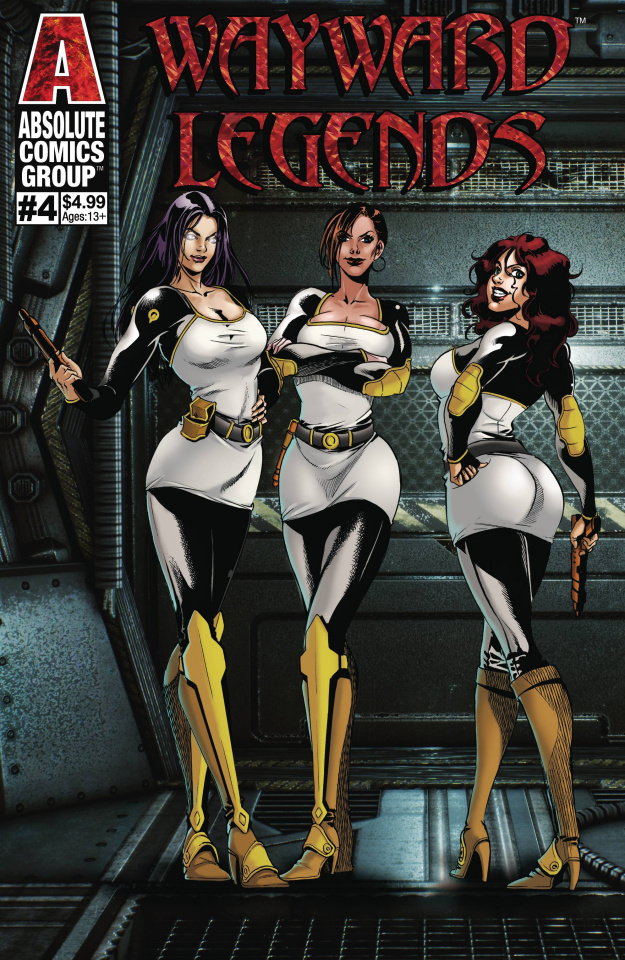 Wayward Legends #4 (Liu Holo Foil Cover)