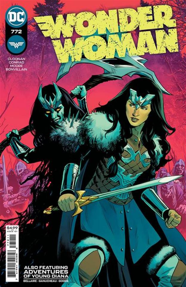 Wonder Woman #772 (Travis Moore Cover)