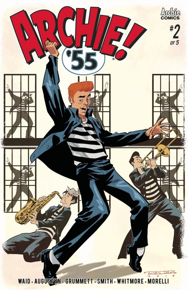 Archie: 1955 #2 (Randolph Cover)