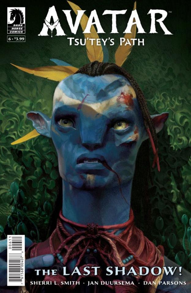 Avatar: Tsu Tey's Path #6 (Wheatley Cover)