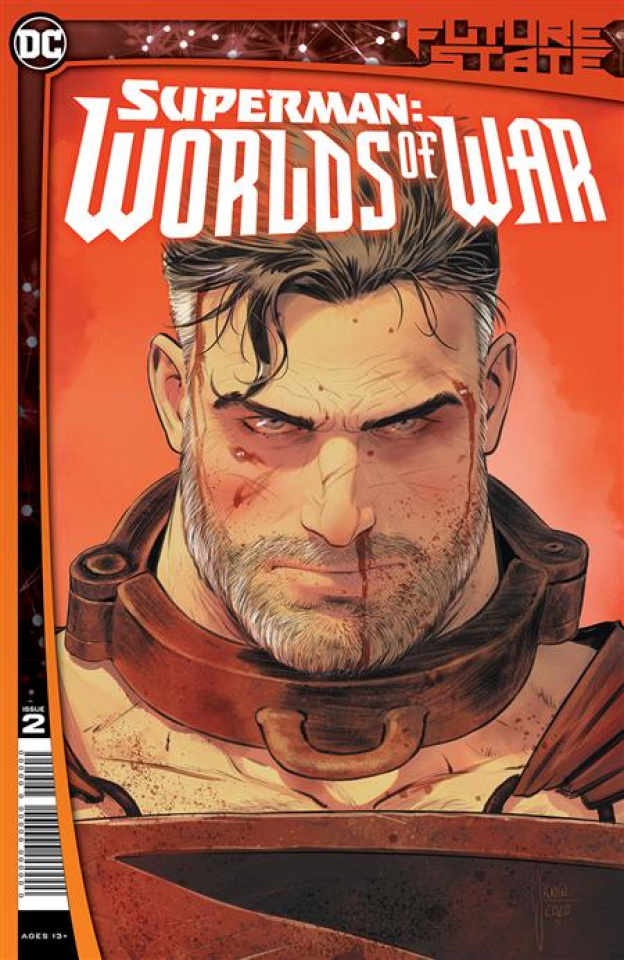Future State: Superman - Worlds Of War #2 (Mikel Janin Cover)
