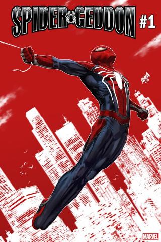 Spider-Geddon #1 (Nakayama PS4 Spider-Man Cover)