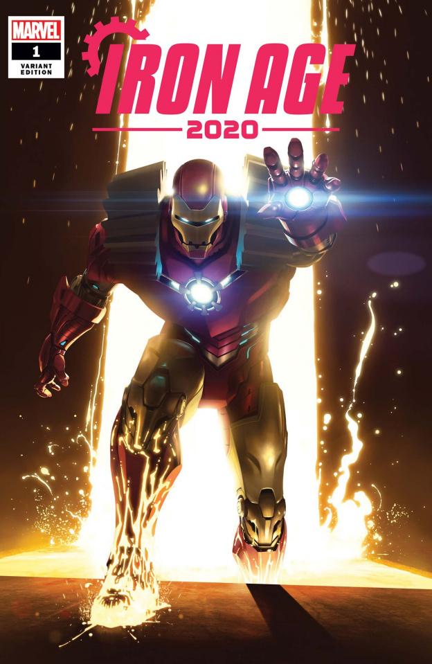Iron Age: 2020 #1 (Rahzzah Cover)
