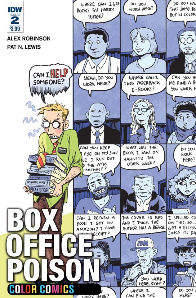 Box Office Poison: Color Comics #2