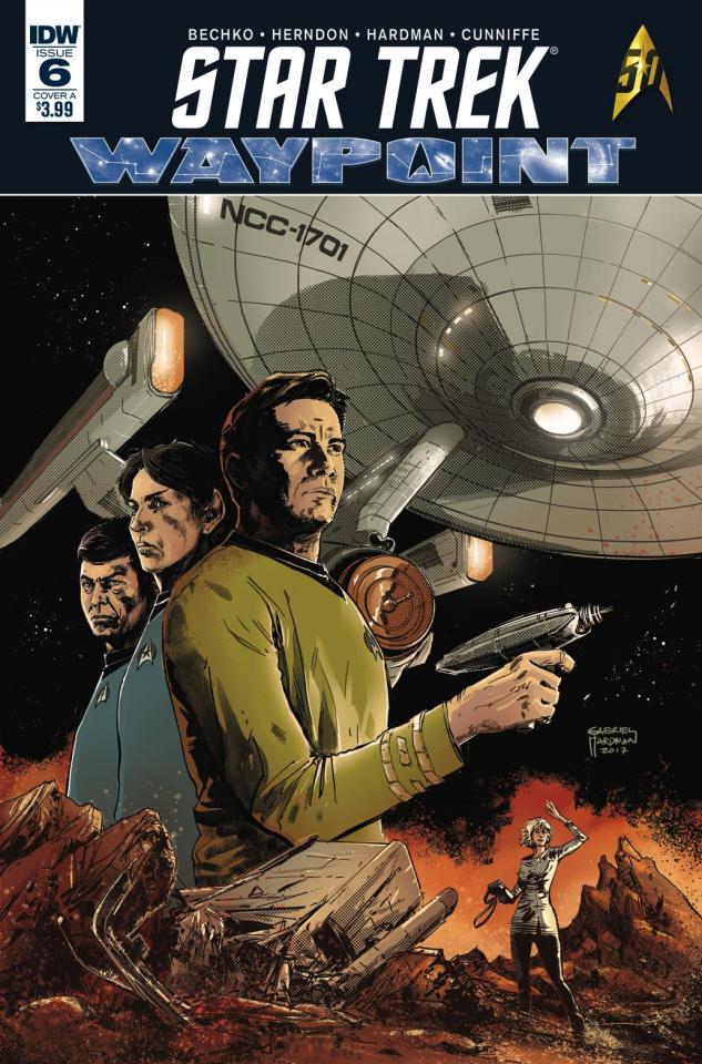 Star Trek: Waypoint #6 (Hardman Cover)